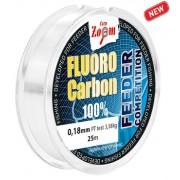 Фидерный поводочный флюрокарбон Fluorocarbon Leader