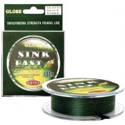 Шнур Globe SINK FAST 20m (зеленый)*