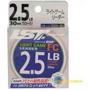 Флюорокарбон LineSystem Light Game Leader FC цвет прозрачный