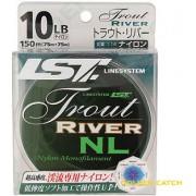 Леска LineSystem Trout River цвет коричневый 150m*