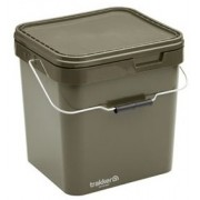 17 Ltr Olive Square Container